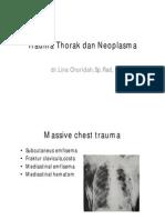 Trauma Thorak Dan Neoplasma