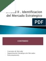Unidad II Identificacion Del Mercado Estrategico PDF