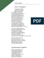 thơ tình tuyển chọn 2