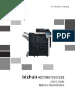 Bizhub 423 363 283 223 Ug Network Administration en 2 1 0