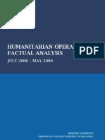 Sri Lankan Humanitarian Operation Factual Analysis (www.adaderana.lk)