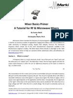 Mixer Basics Primer