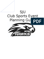 Club Sports Event Planning Manual