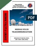 E3125 Telecommunication UNIT0