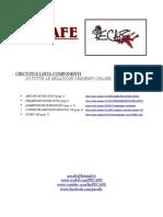 CIRCUITI E LISTE COMPONENTI (delle nostre relazioni presenti online)