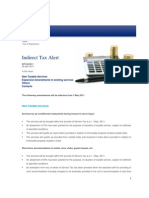 Deloitte Indirect Tax Alert 08-2011