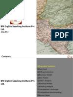 BM English Speaking Institute Pvt. Ltd. - Company Profile