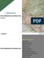 Hero Mindmine Institute Ltd. - Company Profile