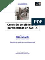 20091223 Creacion de Bibliotecas Parametric As en CATIA