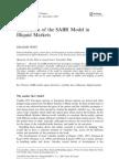Calibration of the SABR Model in Illiquid Markets