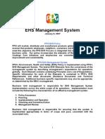 EHS Management System