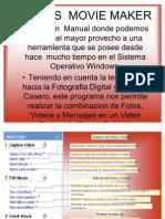Manual de Windows Movie Maker Español