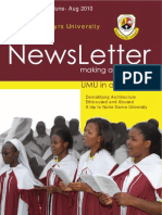 Uganda Martyrs University Newsletter 2010-1
