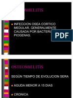 OSTEOMIELITIS CLASE