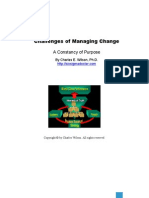 Challenge of Managing Change