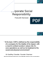 Corporate Social Responsibilty Personal View