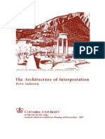 The Architecture of Interpretation