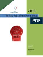 Blinky breakout manual
