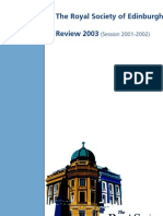 Review of Session 2001-2002
