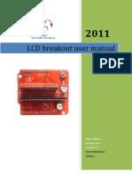 LCD breakout manual