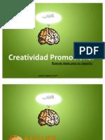Creatividad Promocional paginas web