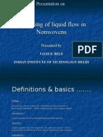 Presentation on Nonwovens