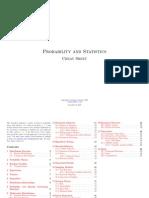Probablity & Statistics-Cheat Sheet