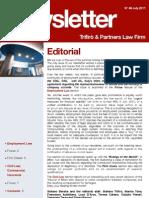 Newsletter T&P N°49 Eng