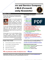 Family Newsletter HQSVC Co 1 August 2011