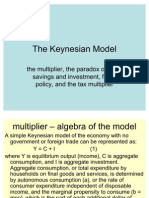 Keynesian Algebra and Etc