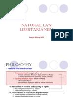 Natural Law Libertarian - Frank Van Dun