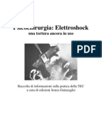 Psicochirurgia e Elettroshock