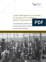 Estudo de Caso - Conflict Management in Indonesia