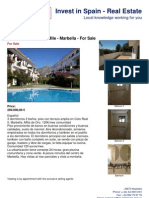 Bank reposession - Golden Mile  Marbella - 3 bedroom apartment