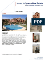 Property for sale Marbella - Soto de Marbella 2 bed Apartment 160.000€