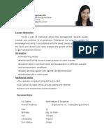 my resume...