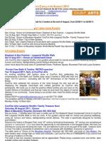 CoolTan Arts E-Bulletin August 2011