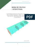 Memoria de Cálculo Estructuras