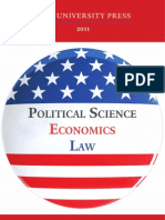 Yale University Press Social Science 2011 Catalog