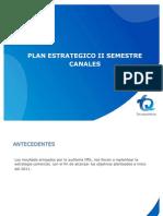 Plan Estrategico II Semestre Canales
