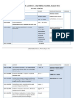 Aapap 2011 Conference Programme