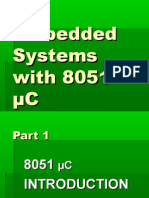 Embedded Systems with 8051 µC