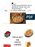 Pizza Hut vs. Pizza Corner