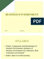 Business Enviornment