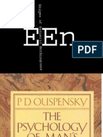 The Psychology of Man's Possible Evolution - P. D. Ouspenski