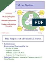 DC Motor System