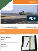 Private Public Partnership - Audit Guidelines