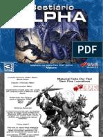 3D&T - Bestiário Alpha - Versão - 2.0