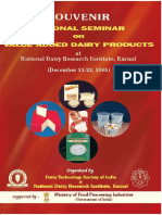 National Seminar on Value Added Dairy Products