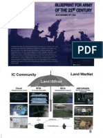 Unclassified FOUO - Blueprint for Army of the 21st Century
